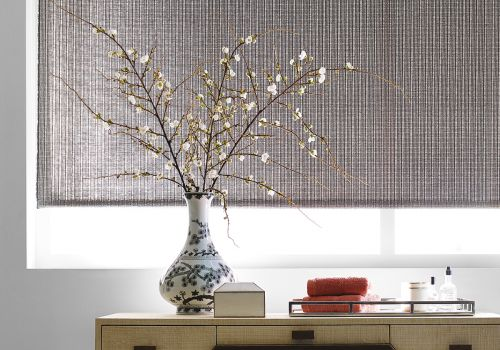 Hartmann&Forbes Rollershades (PE605-60 Tranquility Fabric in Cool Grey)